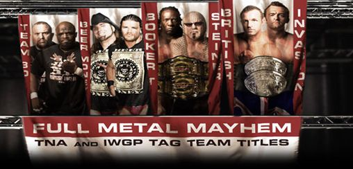 Top 10 des meilleurs matchs de l'histoire de Bound For Glory! Bound-for-glory-2009-full-metal-mayhem-tna-tag-team